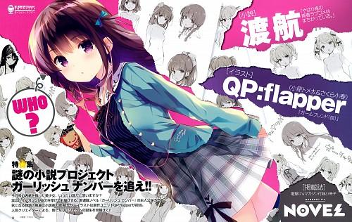QP:flapper, Gi(a)rlish Number, Chitose Karasuma (Girlish Number), Dengeki G's Magazine