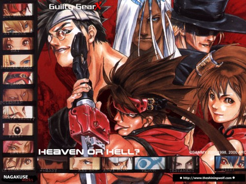 Guilty Gear, Sol Badguy, Faust (Guilty Gear), May (Guilty Gear), Anji Mito Wallpaper