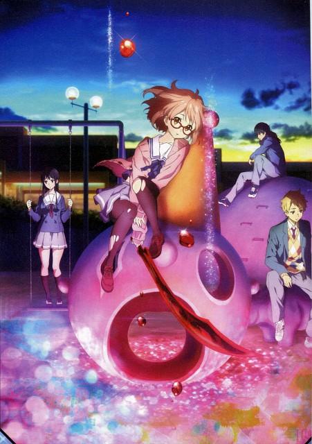 Kyoto Animation, Kyoukai no Kanata, Mitsuki Nase, Hiroomi Nase, Mirai Kuriyama