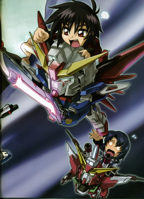 As' Maria, Sunrise (Studio), Mobile Suit Gundam SEED Destiny, Shinn Asuka, Athrun Zala