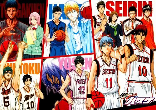 Tadatoshi Fujimaki, Production I.G, Kuroko no Basket, Taiga Kagami, Shintarou Midorima