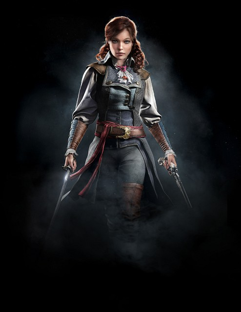 Ubisoft, Assassin's Creed Unity, Élise De La Serre, Official Digital Art
