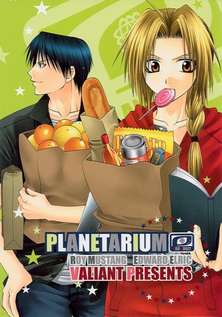 Kiri Shijima, Fullmetal Alchemist, Roy Mustang, Edward Elric, Doujinshi Cover