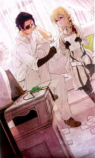 Akiko Takase, Kyoto Animation, Violet Evergarden, Gilbert Bougainvillea, Violet Evergarden (Character)