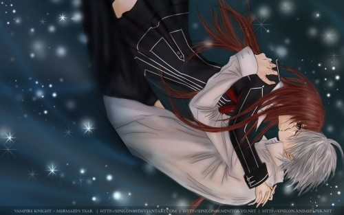 Vampire Knight, Zero Kiryuu, Yuuki Cross, Member Art Wallpaper
