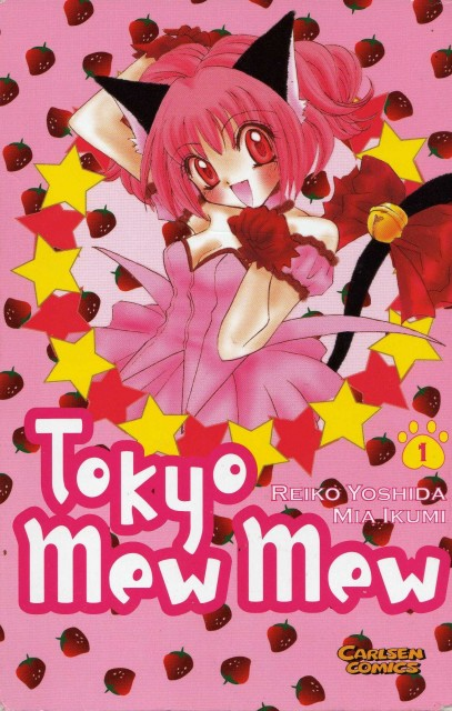 Mia Ikumi, Tokyo Mew Mew, Ichigo Momomiya, Manga Cover