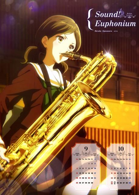 Kyoto Animation, Pony Canyon, Hibike! Euphonium, Hibike! Euphonium Calendar 2016, Haruka Ogasawara
