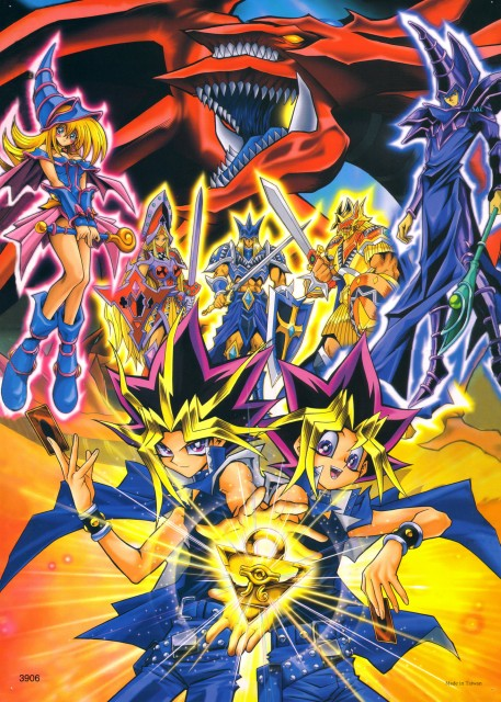 Kazuki Takahashi, Studio Gallop, Yu-Gi-Oh Duel Monsters, Slifer the Sky Dragon, Dark Magician