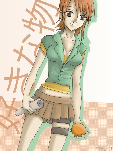 One Piece, Nami, Member Art