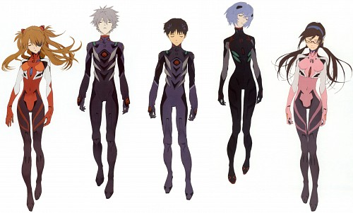 Gainax, Khara, Neon Genesis Evangelion, Kaworu Nagisa, Asuka Langley Soryu