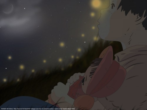 Studio Ghibli, Grave of the Fireflies, Setsuko, Vector Art Wallpaper