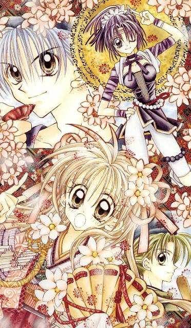 Arina Tanemura, Kamikaze Kaitou Jeanne, Kamikaze Kaitou Jeanne Artbook, Yamato Minazuki, Chiaki Nagoya