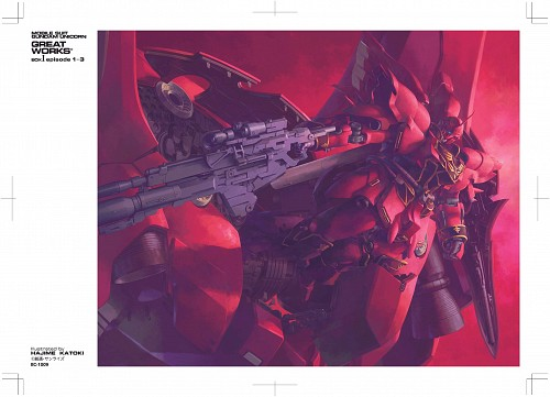 Hajime Katoki, Sunrise (Studio), Mobile Suit Gundam - Universal Century, Mobile Suit Gundam Unicorn, Full Frontal
