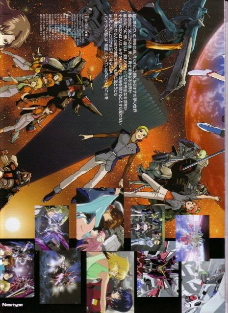 Sunrise (Studio), Mobile Suit Gundam SEED, Orga Sabnak, Shani Andras, Crot Buer