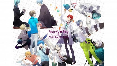 Kazuaki, Starry Sky, Hayato Aozora, Azusa Kinose, Kotarou Hoshizuki
