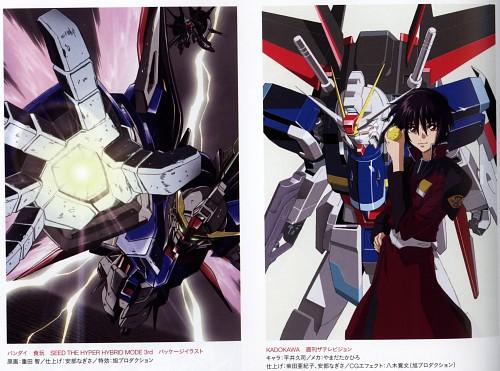 Hisashi Hirai, Sunrise (Studio), Mobile Suit Gundam SEED Destiny, Shinn Asuka