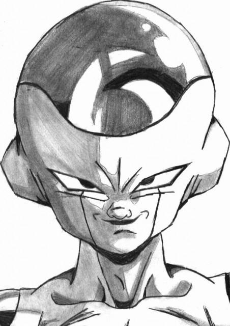 Akira Toriyama, Dragon Ball, Frieza, Member Art