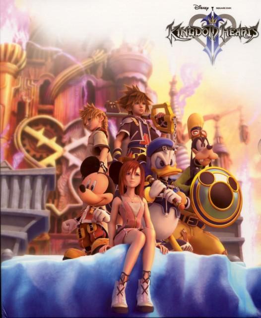 Square Enix, Kingdom Hearts, Donald Duck, Roxas, Kairi