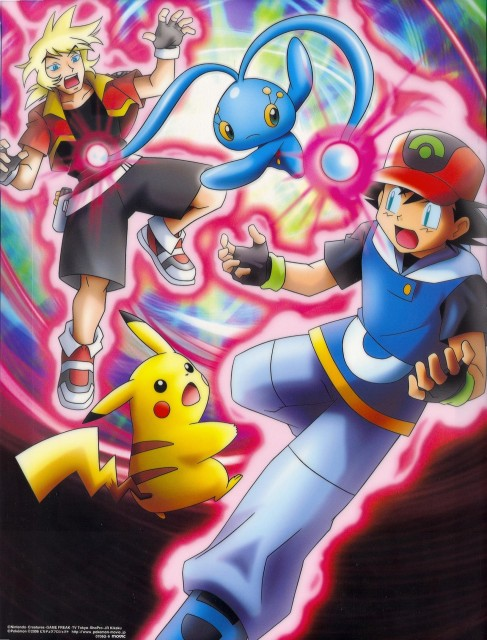 Nintendo, OLM Digital Inc, Pokémon, Ash Ketchum, Manaphy