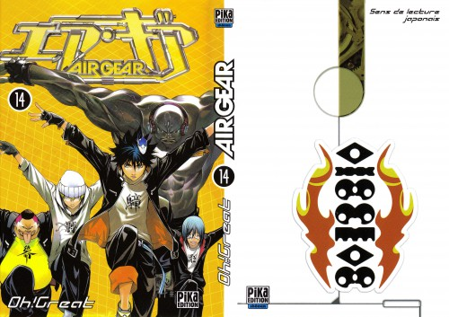 Oh! Great, Air Gear, Buccha, Onigiri (Air Gear), Akito Wanijima