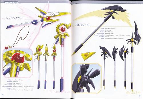 Seven Arcs, Mahou Shoujo Lyrical Nanoha, Prop Designs, Character Sheet