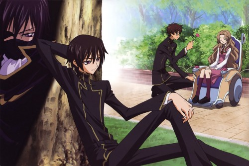 Takahiro Kimura, Sunrise (Studio), Lelouch of the Rebellion, Code Geass Ilustrations Rebels, Nunnally Lamperouge