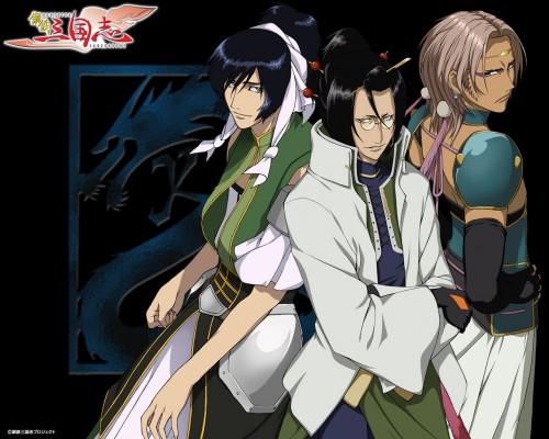 Koutetsu Sangokushi, Ryomou Shimei (Koutetsu Sangokushi), Shiyu Shokatsukin, Kouha Kannei, Official Wallpaper