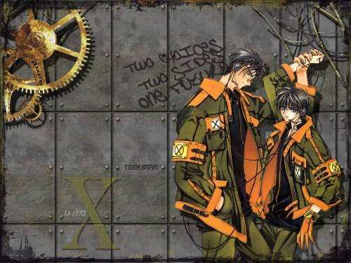 CLAMP, Madhouse, X, Fuuma Monou, Kamui Shirou Wallpaper