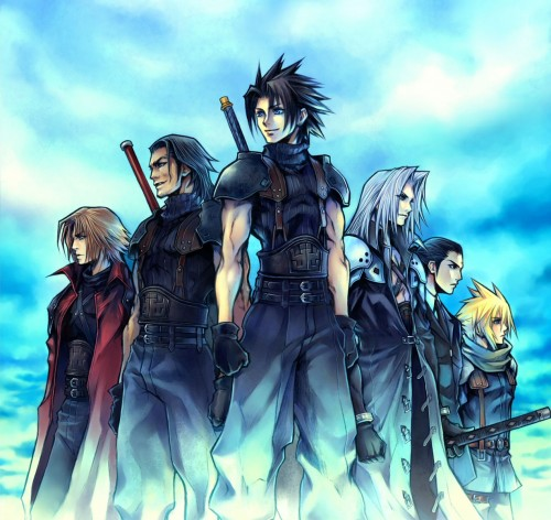 Square Enix, Final Fantasy VII: Crisis Core, Final Fantasy VII, Angeal Hewley, Genesis Rhapsodos