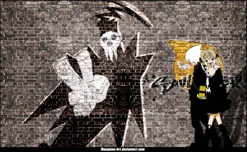Soul Eater, Maka Albarn, Soul Evans, Shinigami-sama Wallpaper