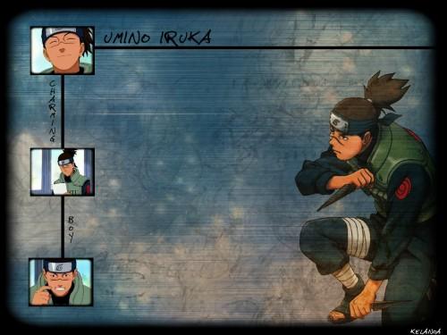 Masashi Kishimoto, Studio Pierrot, Naruto, Iruka Umino Wallpaper