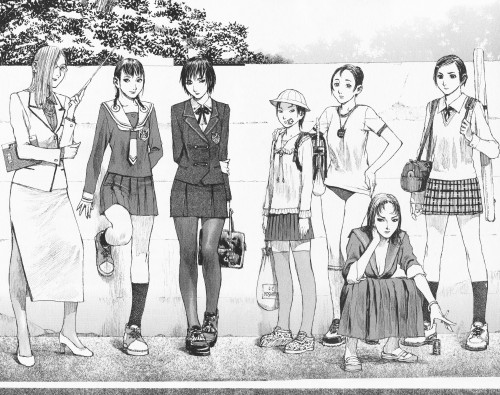 Hiroaki Samura, Blade of the Immortal, Hyakurin , Rin Asano, Makie Otono-tachibana