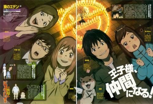 Chika Umino, Production I.G, Eden of the East, Kazuomi Hirasawa, Akira Takizawa
