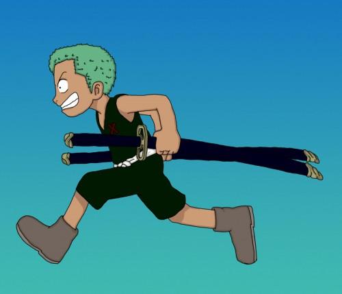 Eiichiro Oda, Toei Animation, One Piece, Roronoa Zoro, Vector Art