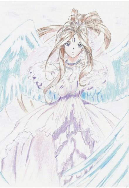 Kousuke Fujishima, Ah! Megami-sama, Belldandy, Member Art