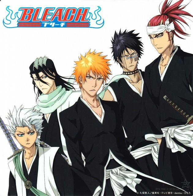 Studio Pierrot, Bleach, Renji Abarai, Shuuhei Hisagi, Toshiro Hitsugaya