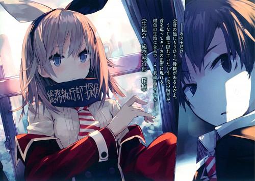 Ponkan Eight, Seitokai Tantei Kirika, Kirika Hijiribashi, Manga Panels