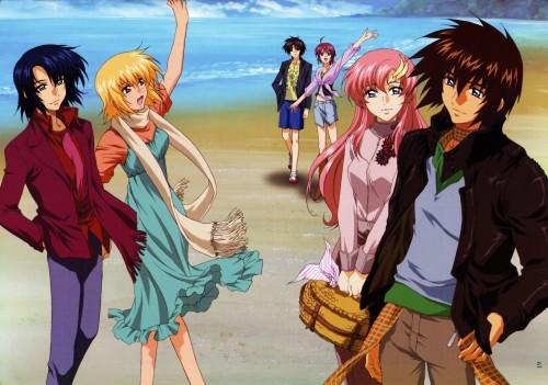 Sunrise (Studio), Mobile Suit Gundam SEED Destiny, Cagalli Yula Athha, Lacus Clyne, Lunamaria Hawke