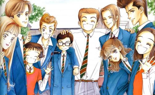Ai Yazawa, Tenshi Nanka Ja Nai, Yuko Mamiya, Akira Sudou, Midori Saejima