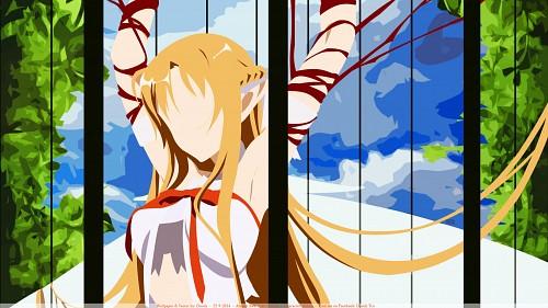Abec, A-1 Pictures, Sword Art Online, Asuna Yuuki Wallpaper
