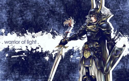 Square Enix, Dissidia Final Fantasy, Warrior Of Light Wallpaper