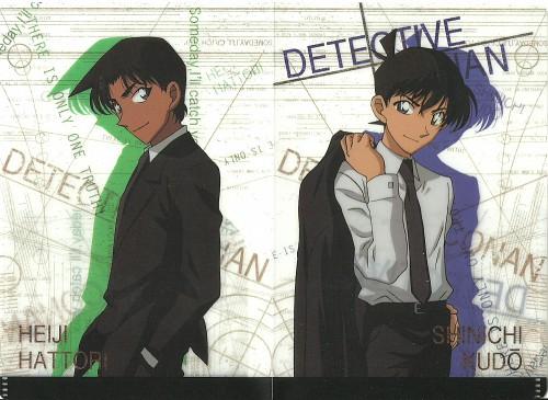 Gosho Aoyama, TMS Entertainment, Detective Conan, Heiji Hattori, Shinichi Kudou