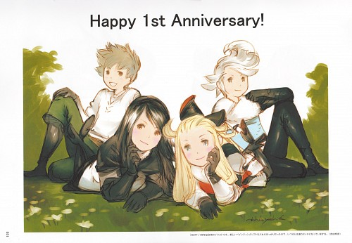 Akihiko Yoshida, Square Enix, Bravely Default, Tiz Arrior, Ringabel