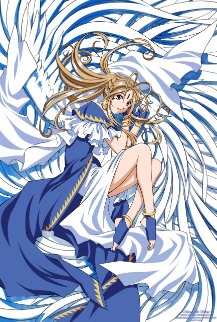 Kousuke Fujishima, Anime International Company, Ah! Megami-sama, Belldandy, Vector Art