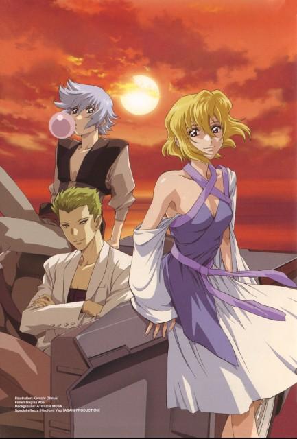 Sunrise (Studio), Mobile Suit Gundam SEED Destiny, Auel Neider, Stellar Loussier, Sting Oakley