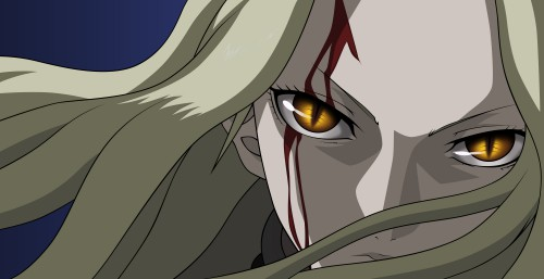 Norihiro Yagi, Madhouse, Claymore, Teresa, Vector Art