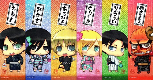 Yuupon, Production I.G, Shingeki no Kyojin, Armin Arlert, Mikasa Ackerman