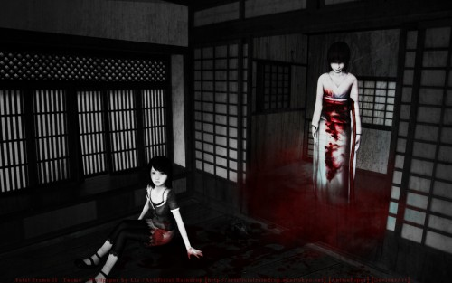 Tecmo, Fatal Frame, Sae Kurosawa, Mio Amakura Wallpaper