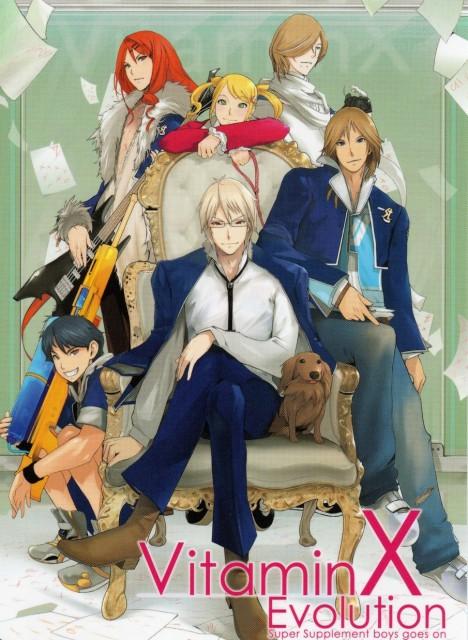 Hirotaka Maeda, D3 Publisher, Vitamin X, Mizuki Madarame, Hajime Kusanagi