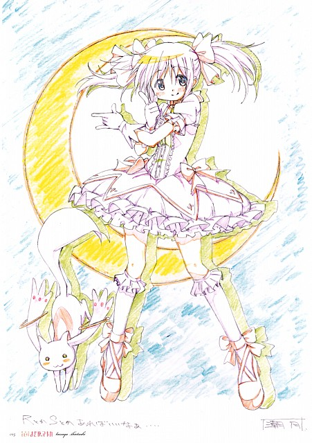 Puella Magi Madoka Magica, Madoka Magica: KEY ANIMATION NOTE EXTRA, Madoka Kaname, Kyubey